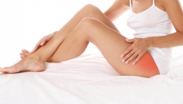 Боль в ноге в области тазобедренного сустава