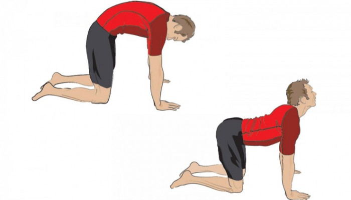 Гімнастика при грудному остеохондрозі