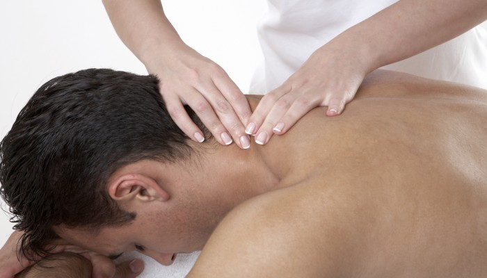 man-massage