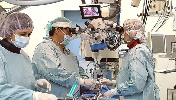 Операция при межпозвоночной грыже.