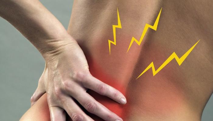 Болит внизу спины по центру