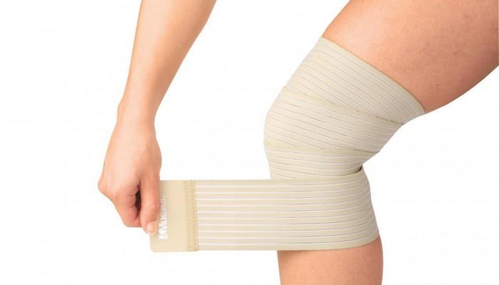 Эластичная повязка на колено